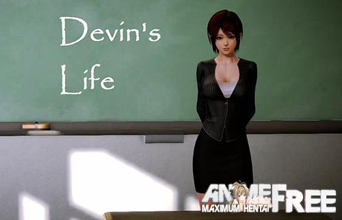 Картинка Devin's Life [2018] [Uncen] [RPG, 3DCG, ADV] [ENG] H-Game