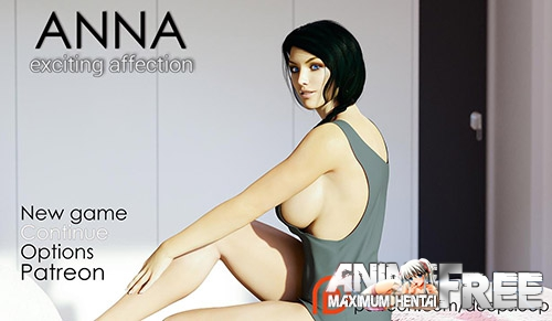 Картинка Anna Exciting Affection [2017] [Uncen] [RPG, 3DCG] [ENG] H-Game