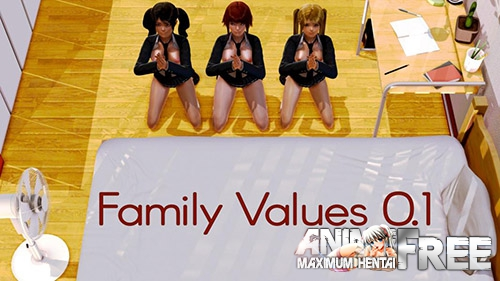Картинка Family Values [2018] [Uncen] [ADV, 3DCG] [ENG] H-Game