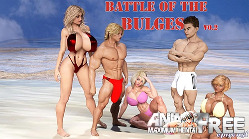 Картинка Battle of the Bulges [2017] [Uncen] [ADV, 3DCG] [Android Compatible] [ENG,RUS] H-Game