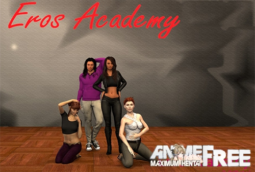 Картинка Eros Academy [2017] [Uncen] [ADV, 3DCG, Animation] [Android compatible] [ENG] H-Game