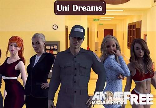 Картинка Uni Dreams [2017] [Uncen] [ADV, 3DCG] [ENG] H-Game