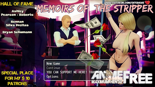 Картинка Memoirs of The Stripper [2018] [Uncen] [ADV, 3DCG] [ENG] H-Game
