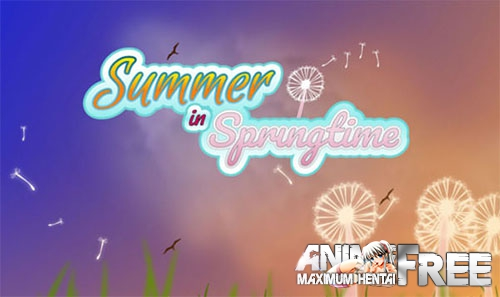 Картинка Summer In Springtime [2018] [Uncen] [ADV, Animation] [ENG] H-Game
