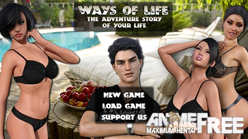 Картинка Ways of Life [2018] [Uncen] [ADV, 3DCG] [Android Compatible] [ENG,RUS,ITA] H-Game