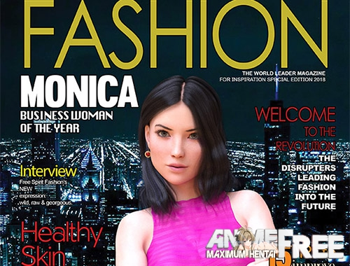 Картинка Fashion Business: Monica's adventures - Episode 1 (FULL) [2018] [Uncen] [3DCG, ADV] [ENG,RUS] H-Game