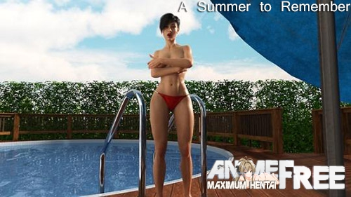 Картинка A Summer to Remember [2018] [Uncen] [ADV, 3DCG] [ENG] H-Game