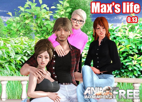 Картинка Max's Life [2017] [Uncen] [ADV, 3DCG] [ENG] H-Game