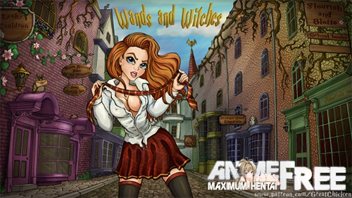Картинка Wands and Witches [2017] [Uncen] [RPG] [RUS,ENG] H-Game