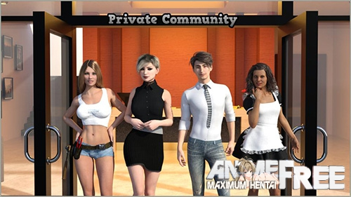 Картинка Private Community (The Personal Space Resort) [2018] [Uncen] [ADV, 3DCG] [ENG] H-Game