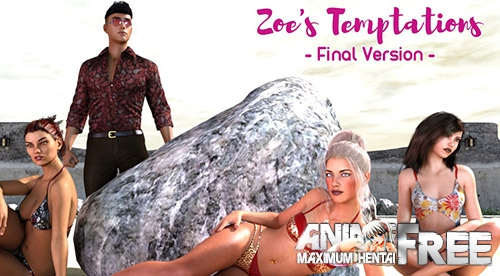 Картинка Zoe's Temptations [2016] [Uncen] [RPG, 3DCG] [ENG] H-Game
