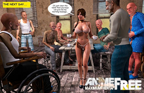 Картинка Supafly - Lost Bet - Petra Helps The Elderly [Uncen] [3DCG] [ENG] Porn Comics