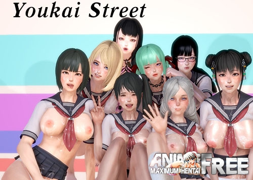 Картинка Youkai Street [2018] [Uncen] [ADV, 3DCG] [ENG] H-Game