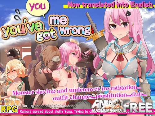 Картинка You, You've Got Me Wrong! [2017] [Cen] [jRPG] [ENG,RUS] H-Game