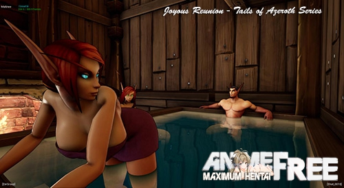 Картинка Joyous Reunion - Tails of Azeroth Series [2018] [Uncen] [3D, RPG, Animation] [ENG] H-Game