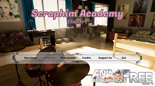 Картинка Seraphim Academy [2018] [Uncen] [ADV, 3DCG] [Android Compatible] [ENG,RUS] H-Game