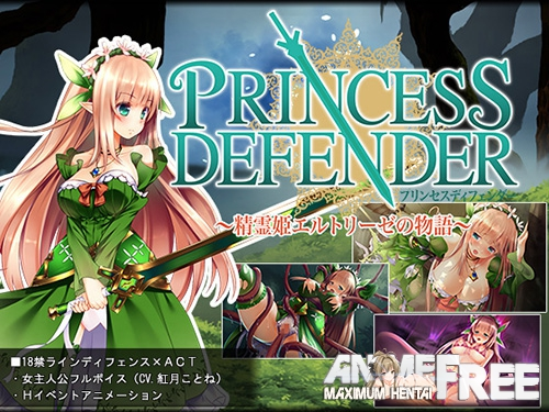 Картинка Princess Defender - The Story of the Final Princess Eltrise - [2018] [Cen] [ARPG] [JAP] H-Game