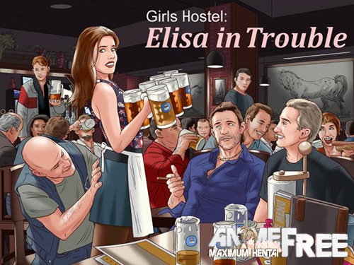 Картинка Girls Hostel: Elisa in Trouble [2018] [Uncen] [ADV] [ENG,RUS] H-Game
