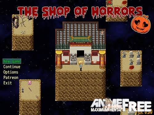 Картинка The Shop of Horrors [2018] [Uncen] [ADV, RPG] [ENG] H-Game