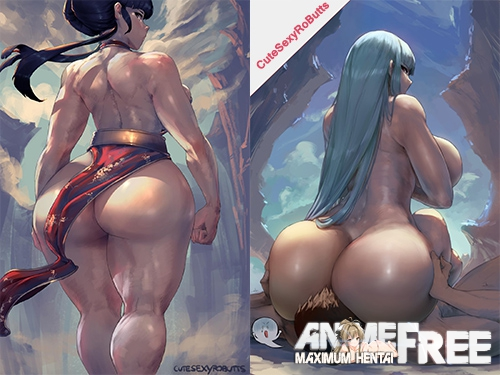 Картинка CuteSexyRoButts (ArtWork Collection) [Uncen] [JPG,PNG] Hentai ART