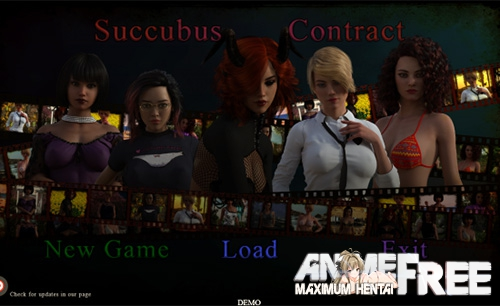 Картинка Succubus Contract [2018] [Uncen] [Puzzle, 3DCG, Animation] [ENG] H-Game