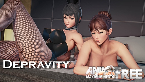 Картинка Depravity [2019] [Uncen] [ADV, 3DCG] [Android Compatible] [ENG,RUS] H-Game