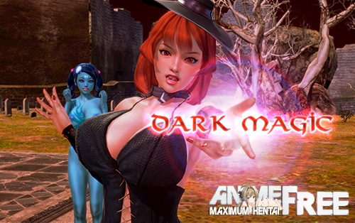 Картинка Черная магия / Dark Magic [2018] [Uncen] [ADV, 3DCG, VN] [Android Compatible] [ENG,RUS] H-Game