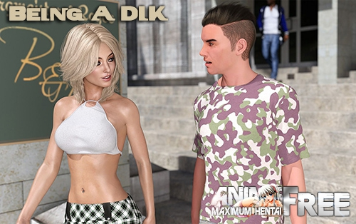 Картинка Being A DIK [2019] [Uncen] [ADV, 3DCG] [Android Compatible] [ENG,RUS] H-Game