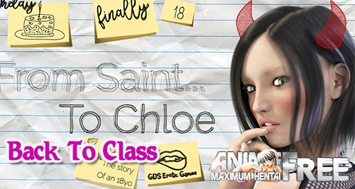 Картинка Chloe18 - Fake Family [2020] [Uncen] [ADV, 3DCG] [Android Compatible] [ENG] H-Game