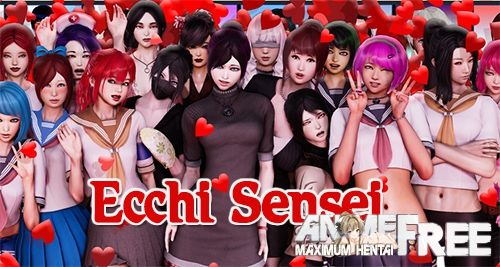 Картинка Ecchi Sensei [2018] [Uncen] [ADV, 3DCG, Animation] [Android Compatible] [ENG] H-Game