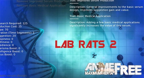 Картинка Lab Rats 2 [2018] [Uncen] [ADV, 3DCG] [Android Compatible] [ENG] H-Game
