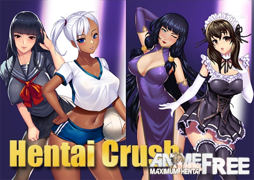 Картинка Hentai Crush [2019] [Uncen] [ADV, Dating Sim] [JAP,ENG] H-Game