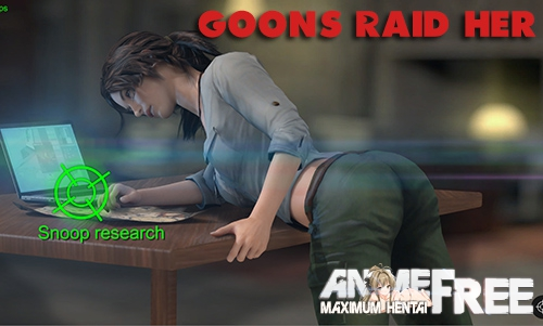 Картинка Goons Raid Her [2019] [Uncen] [ADV, 3DCG, Animation] [ENG] H-Game