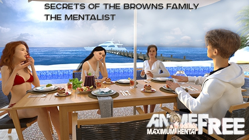 Картинка Secrets of the Browns Family. The Mentalist [2019] [Uncen] [ADV, 3DCG] [ENG,RUS] H-Game