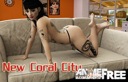 Картинка New Coral City [2019-2020] [Uncen] [ADV, 3DCG] [Android Compatible] [ENG] H-Game