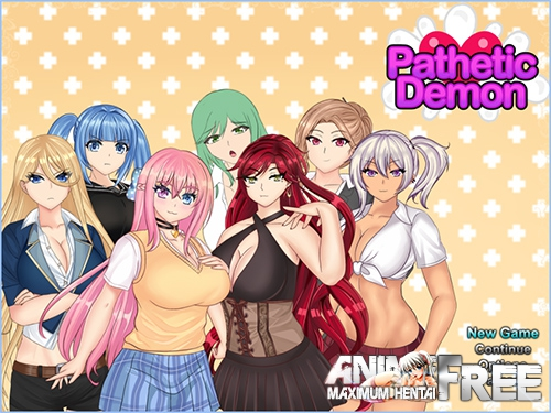 Картинка Pathetic Demon [2019] [Uncen] [ADV, RPG, Animation] [ENG] H-Game