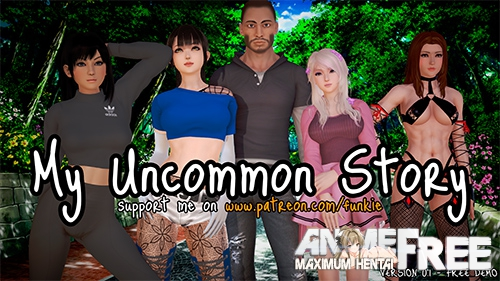 Картинка My Uncommon Story [2019] [Uncen] [ADV, 3DCG] [ENG] H-Game