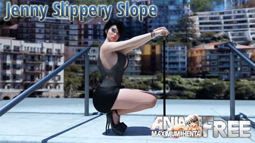 Картинка Jenny Slippery Slope [2019] [Uncen] [ADV, 3DCG] [Android Compatible] [ENG] H-Game