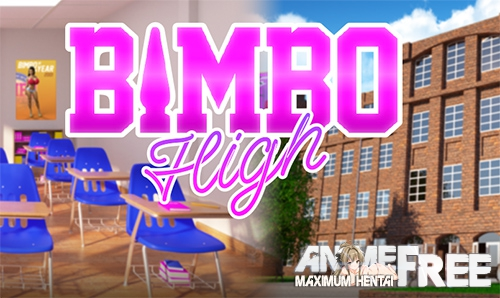 Картинка Bimbo High [2019] [Uncen] [ADV, 3DCG] [Android Compatible] [ENG] H-Game
