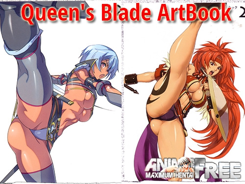Картинка Queen's Blade ArtBook (Collection) - Сборник хентай арта [Ptcen] [JPG,PNG] Hentai ART