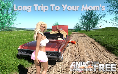 Картинка Long Trip To Your Mom's [2019] [Uncen] [ADV, 3DCG, Animation] [Android Compatible] [ENG] H-Game