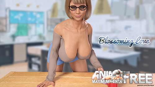 Картинка Blossoming Love [2019] [Uncen] [ADV, 3DCG] [Android Compatible] [ENG,RUS] H-Game