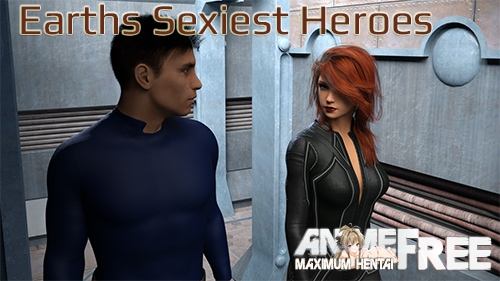 Картинка Earths Sexiest Heroes [2018] [Uncen] [ADV, 3DCG] [ENG] H-Game