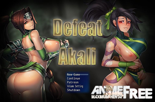 Картинка Defeat Akali [2019] [Uncen] [RPG, ADV] [ENG] H-Game