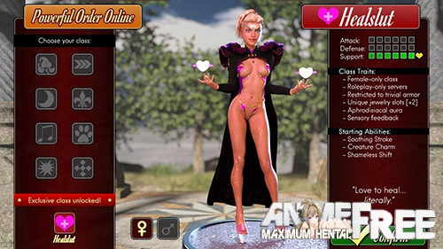 Картинка Healslut [2019] [Uncen] [ADV, 3DCG, Animation] [Android Compatible] [ENG] H-Game