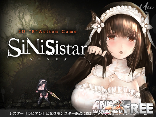 Картинка SiNiSistar [2019] [Uncen] [Action, DOT/Pixel] [ENG,JAP,CHI] H-Game