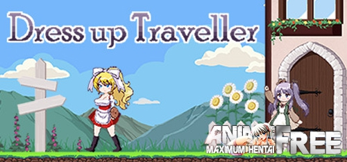 Картинка Dress-up Traveller [2019] [Uncen] [Action, Side-scroller, DOT/Pixel] [ENG,JAP,CHI] H-Game