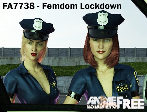 Картинка FA7738 - Femdom Lockdown [2018] [Uncen] [VN, 3DCG] [ENG,RUS] H-Game