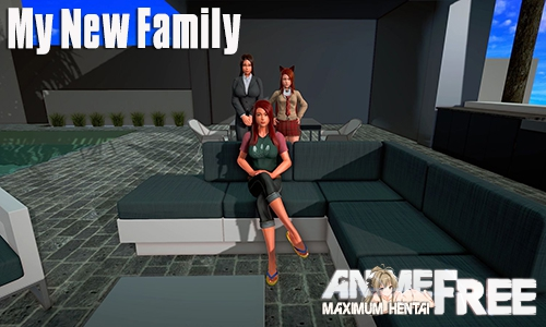 Картинка My New Family [2019] [Uncen] [ADV, 3DCG] [Android Compatible] [ENG] H-Game