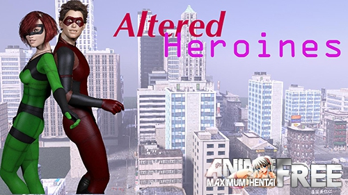 Картинка Altered Heroines [2018] [Uncen] [ADV, 3DCG] [ENG,RUS] H-Game